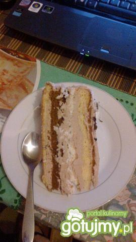Tort kawowo-kokosow