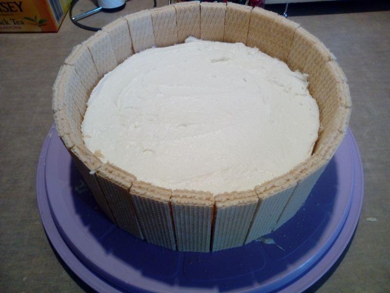 Tort na zimno beczka