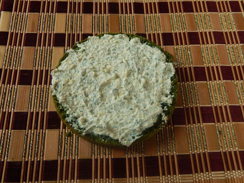 Tort szpinakowy