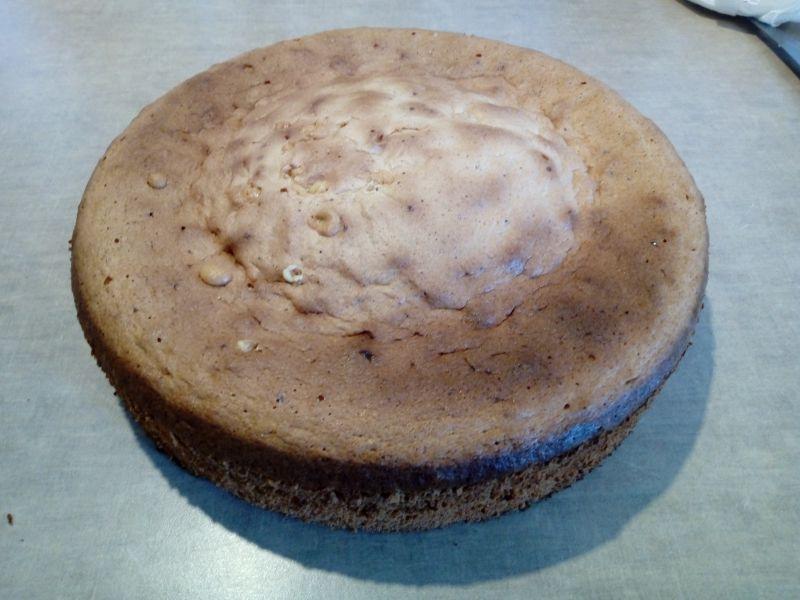 Tort wiśniowo - cytrynowy