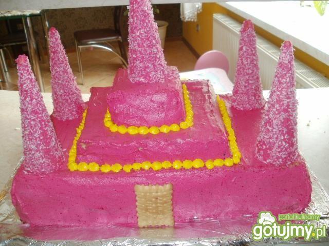 Tort Zamek Księżniczki