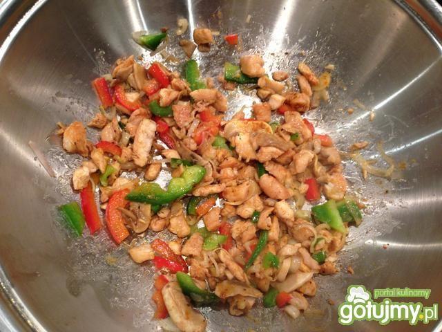 Tortilla z kurczakiem  6