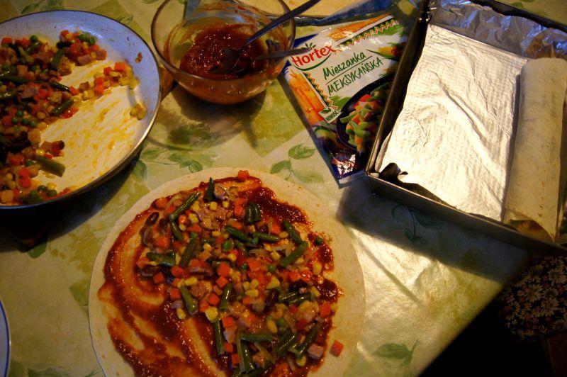 Tortilla z pieca