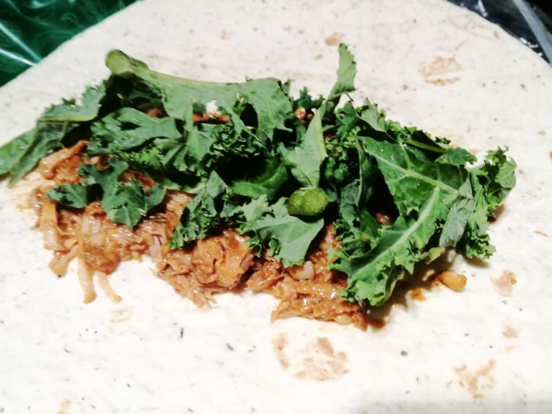 Tortilla z Pulled Pork
