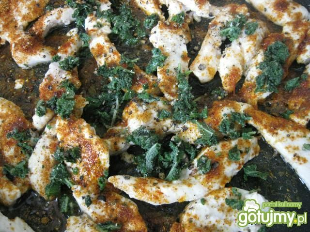 Tortille z kurczakiem w szałwii