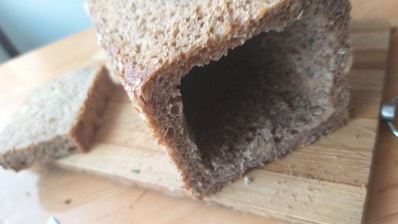 Twaróg w chlebie