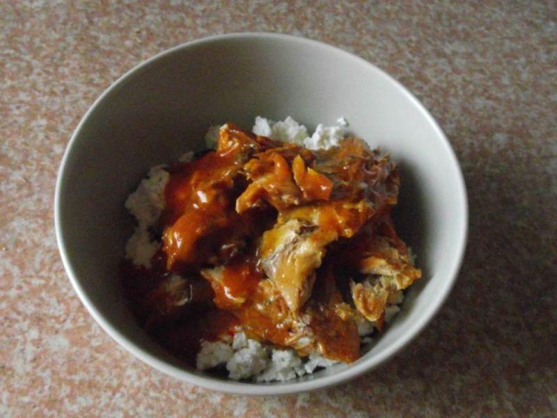 Twarogowa pasta z makrelą w pomidorach
