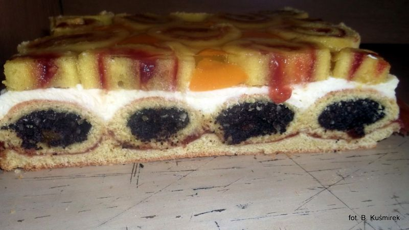 Tygrysek- ciasto składane