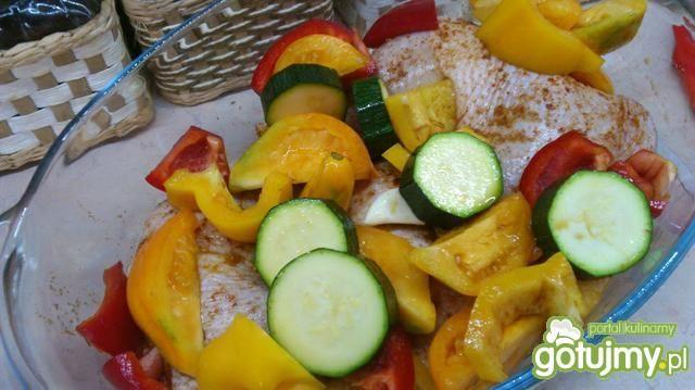 Udka burrito z warzywami