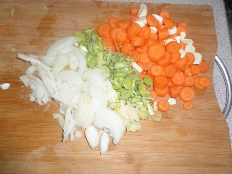Udka z warzywami