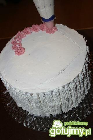 Walentynkowy tort z sercem