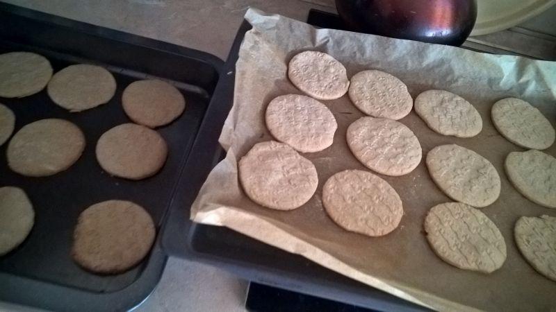Waniliowe ciasteczka z trzcinową nutą