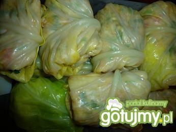 Warzywne gołąbki z pęczakiem