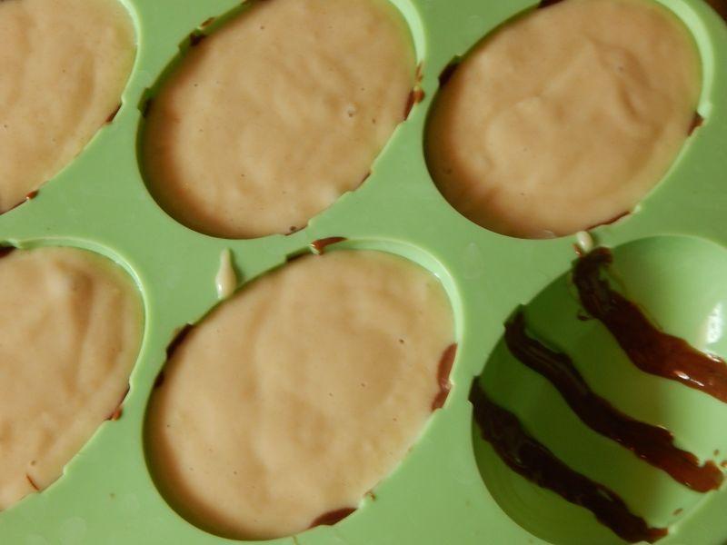 Wielkanocne babeczki - pisanki