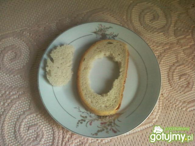 Wielkanocne grzanki z jajkiem : )