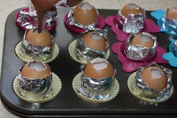 Wielkanocne jajko- murzynki :)
