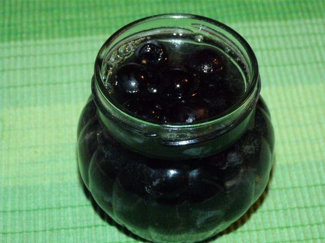 Winogrona w słodkiej zalewie