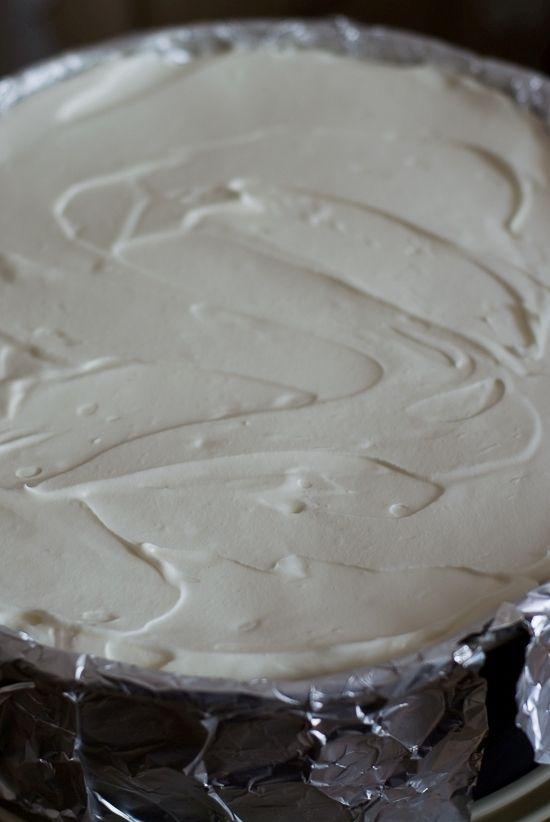 Wiśniowe ciasto na biszkopcie