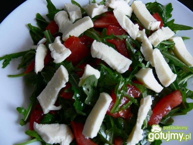 Włoska sałatka z olejem arganowym