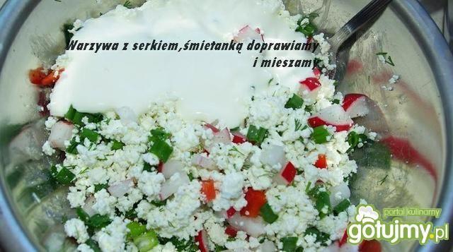 Zakręcony Wiosenny Łosoś :-)