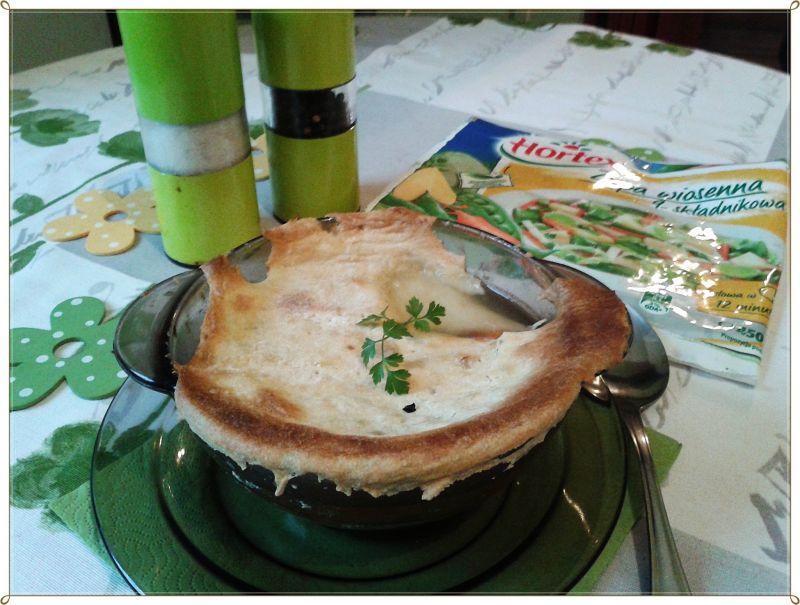 Zapiekana zupa jarzynowo-serowa