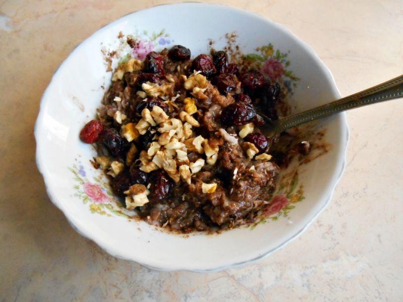 Zapiekane, kakaowe płatki ryżowe