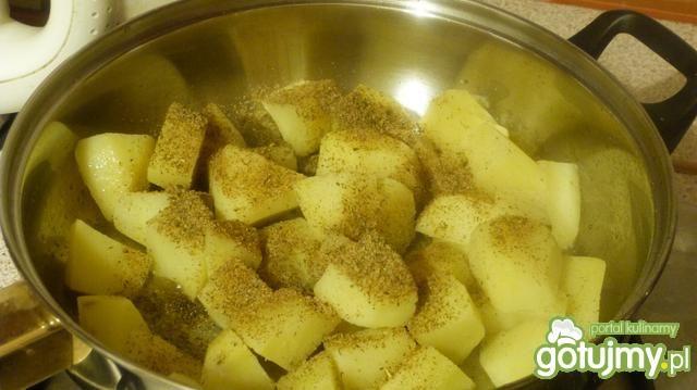 Zapiekane ziemniaki z boczkiem