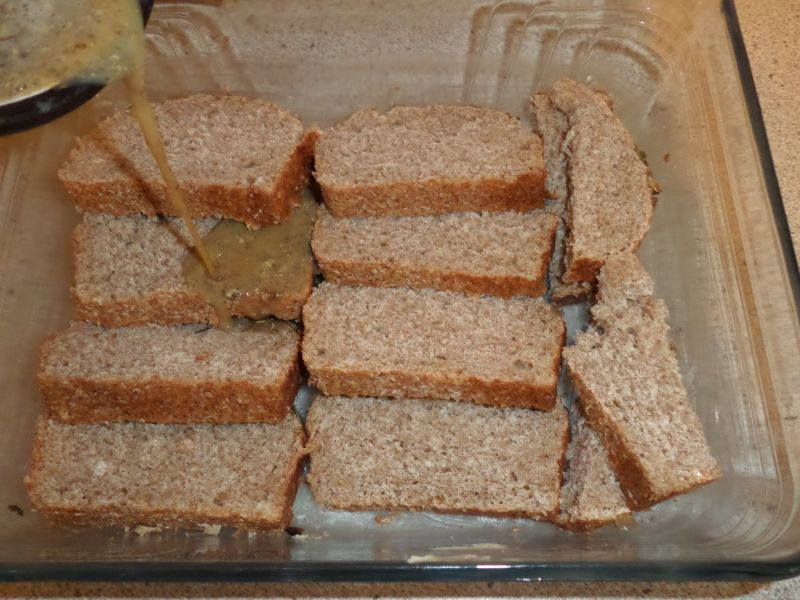 Zapiekanka chleba