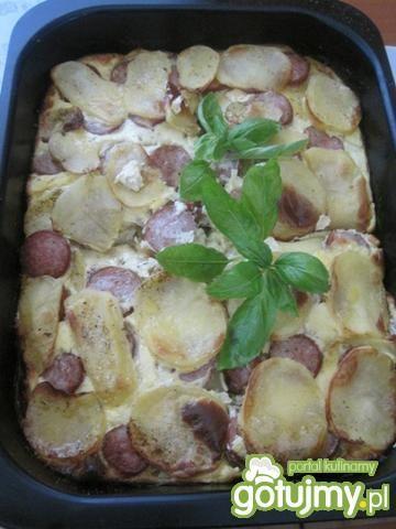 Zapiekanka kartoflana w beszamelu