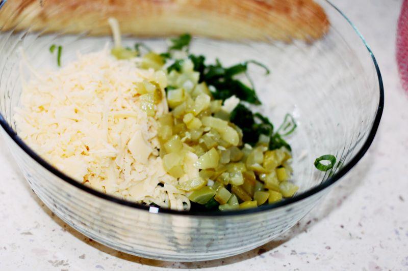 Zapiekanka letnia z dużą ilością sera