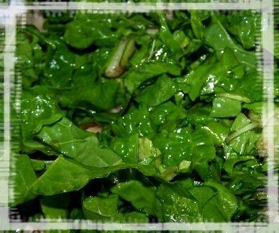 Zapiekanka makaronowa z boćwiną lub szpinakiem