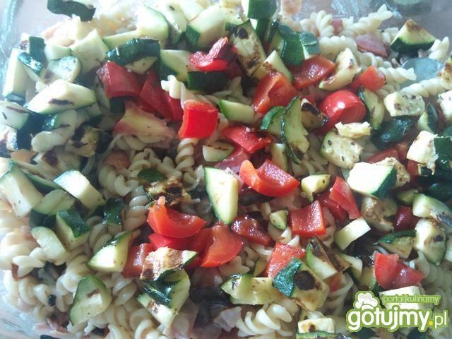 Zapiekanka makaronowa z warzywami 3