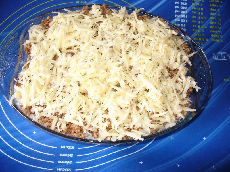 Zapiekanka mięsna z selerem