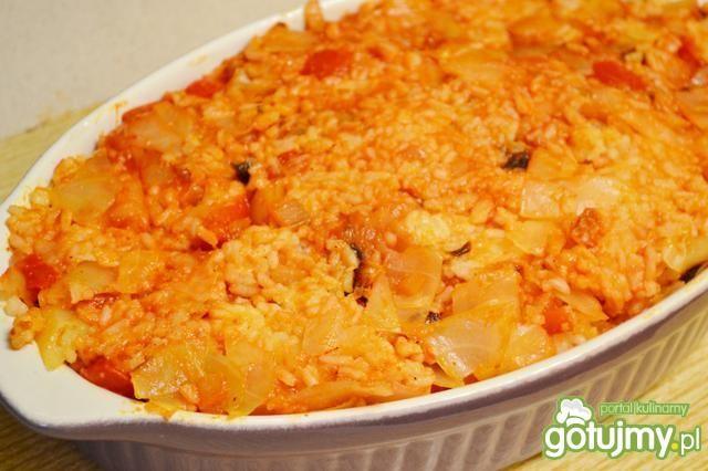 Zapiekanka włoska z kapustą i ryżem