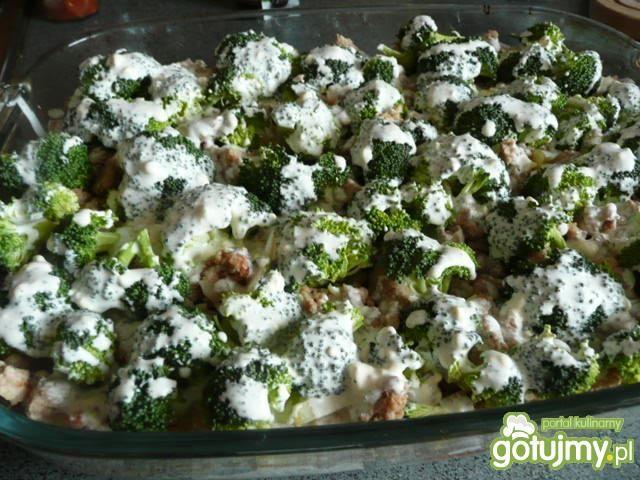 Zapiekanka z brokułami Elfi
