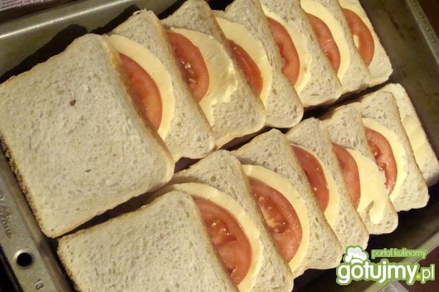 Zapiekanka z chleba