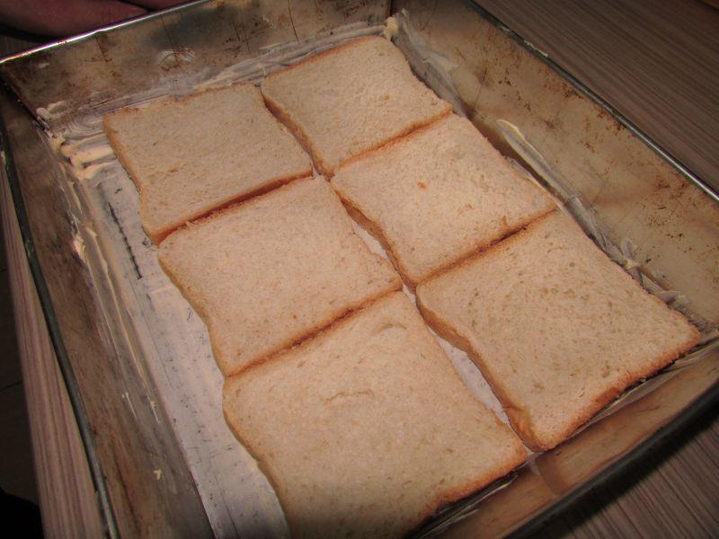 Zapiekanka z chleba tostowego
