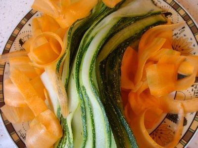 Zapiekanka z cukinią i marchewką