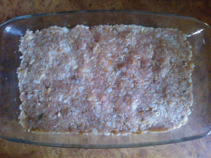 Zapiekanka z cukinii i mięsa mielonego