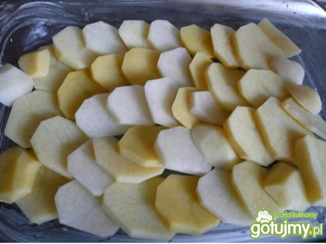 Zapiekanka z kurczakiem i ziemniakami...