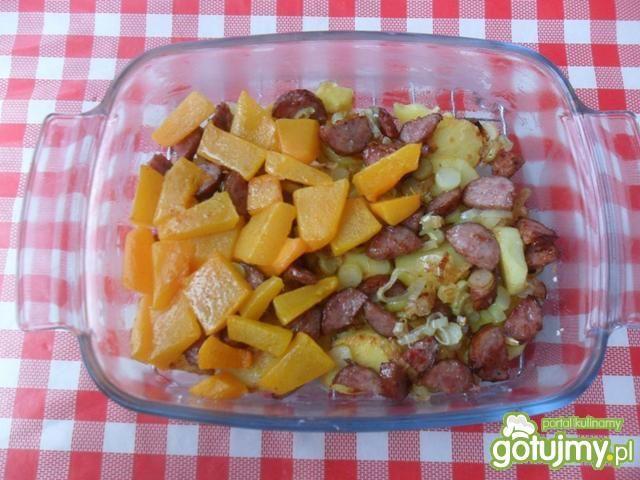 Zapiekanka z ziemniaków i dyni