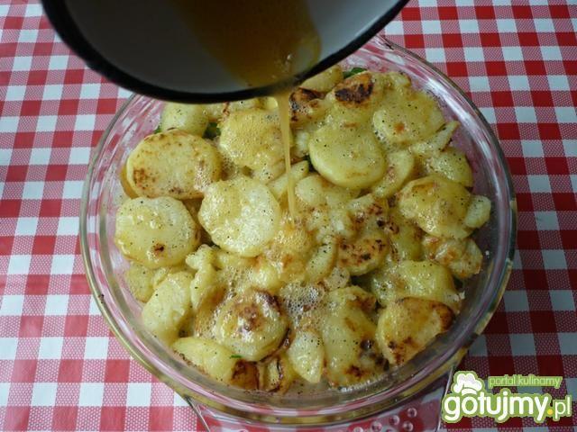 Zapiekanka z ziemniaków i kalafiora.