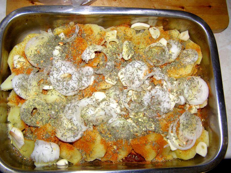 Zapiekanka ziemniaczana z jajkami