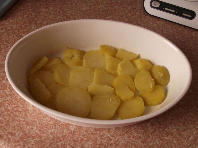 Zapiekanka ziemniaczana z szynką