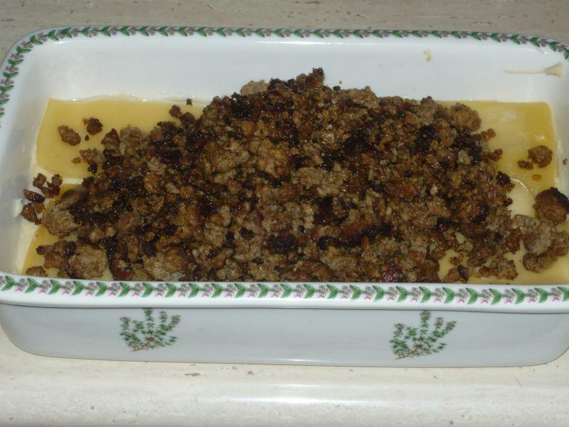 Zapiekanka ziemniaczana z wołowiną