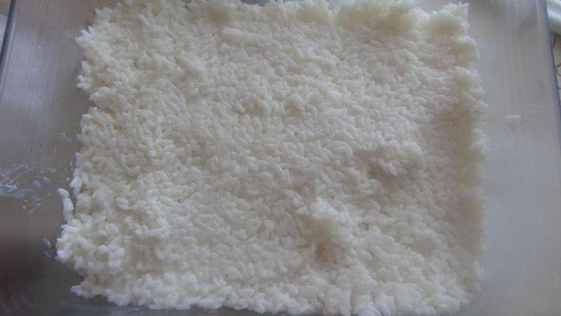 Zapiekany ryż z jabłuszkami