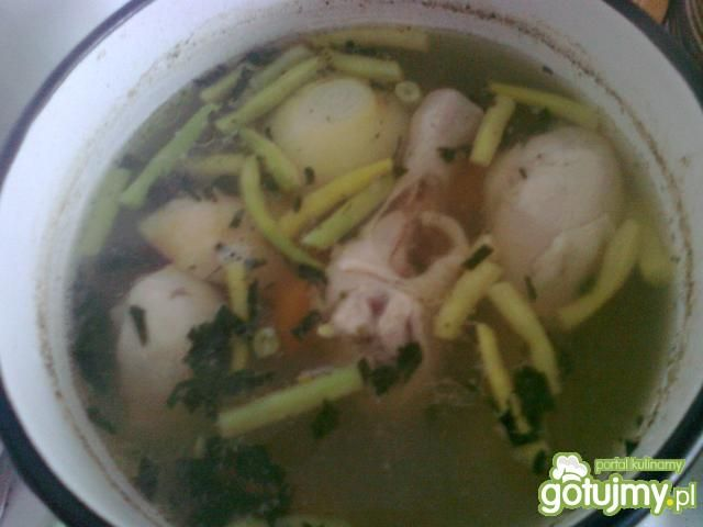 Zasmażana zupa jarzynowa