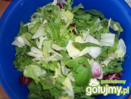 Zielona sałatka