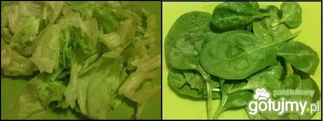 Zielona sałatka - na szybko