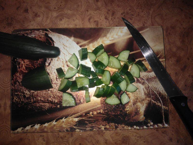 Zielona sałatka z kapusty pekińskiej